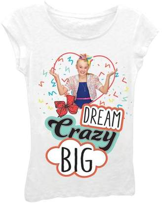 Nickelodeon Jojo Siwa JoJo Siwa Glitter Graphic T-Shirt (Little Girls & Big Girls)