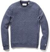 Original Penguin Quilted Crew Neck Sweater