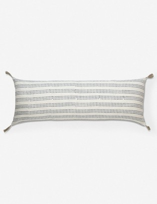 Lulu & Georgia January Lumbar Pillow, Marine