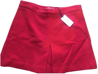 Valentino Red Red Shorts for Women