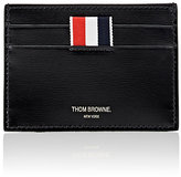 Thom Browne Men's Painted Card Case-BLACK