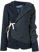Jacquemus patchwork blazer jacket