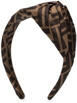 Fendi monogrammed foulard hairband
