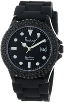 Freelook Men's HA1433B-1 Sea Diver Jelly with Crystal Bezel Watch
