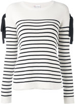 RED Valentino striped jumper - women - Cotton - S