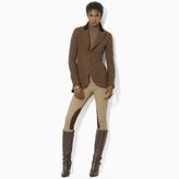 Ralph Lauren Tweed Two-Button Jacket