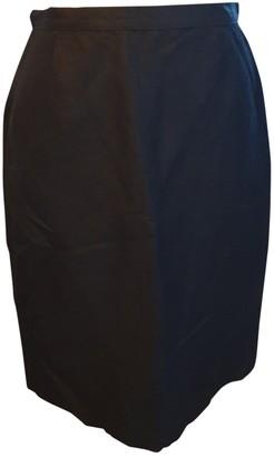 Cacharel Black Linen Skirts