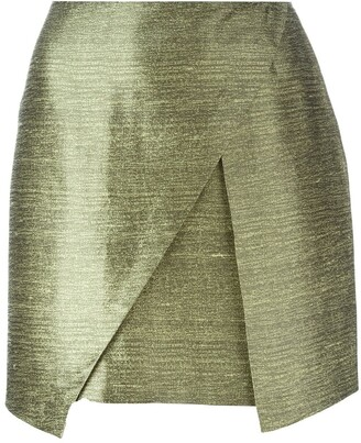 Romeo Gigli Pre Owned Mini Wrap Skirt