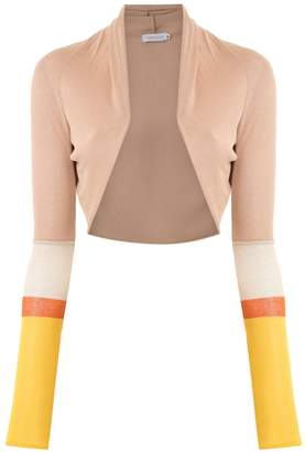 M·A·C Mara Mac knit cropped coat