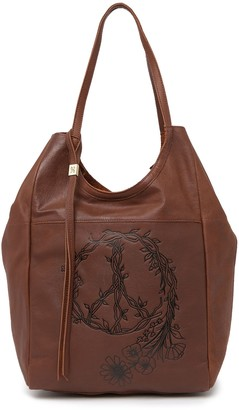 Hobo Native Leather Tote Bag