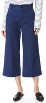 Madewell Langford Wide Leg Crop Pants