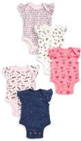 Infant Girl's Rosie Pope Smart Cookie 5-Pack Bodysuits