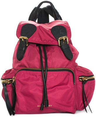 Burberry Red Nylon Backpack