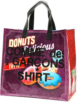 Comme des Garçons Shirt Pop Logo Shopping Bag