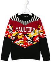Junior Gaultier 'Tristan' jumper