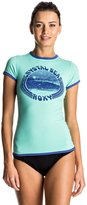 Roxy Womens Sunset - Short Sleeve Rashguard - Women - Xl - Blue Xl