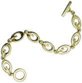 GUESS Gold-Tone Logo Link Bracelet