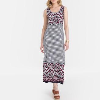 Anne Weyburn Graphic Print Maxi Dress