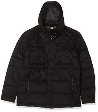S'Oliver Big Size Men's 28.909.51.2407 Jacket, (Black 9999), XXXXXL