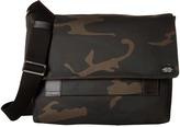Jack Spade Camo Waxwear Field Messenger Messenger Bags