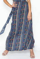 Olivaceous Hippie Maxi Skirt