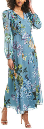 Escada Silk-Lined Maxi Dress