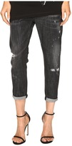 DSQUARED2 Cool Girl Cropped Jeans in Sparkle Wash Women's Jeans