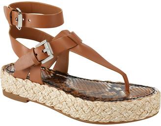 Sigerson Morrison Jabel Leather Sandal
