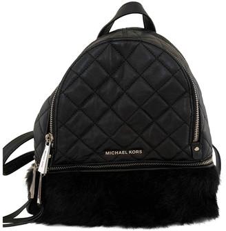 Michael Kors Rhea Black Polyester Backpacks
