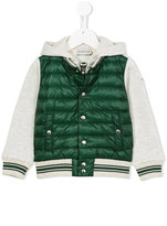 Moncler panelled padded jacket - kids - Cotton/Polyamide/Feather - 10 yrs