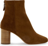 Sandro Sacha suede heeled ankle boots