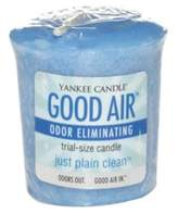 Yankee Candle Good Air® Just Plain CleanTM Odor Eliminating Trial-Size Votive Candle