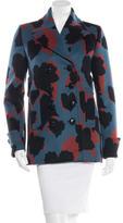 Gucci 2015 Jacquard Leaves Wool Jacket w/ Tags