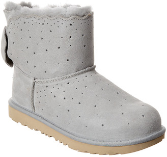 UGG Mini Bailey Bow Ii Starry Lite Suede Boot