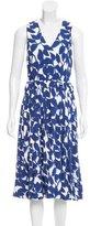 Kate Spade Printed Midi Dress