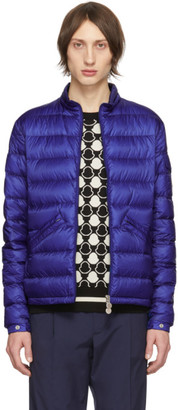 Moncler Blue Down Agay Jacket