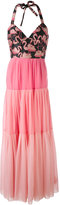 RED Valentino flamingo dress - women - Polyester - 44