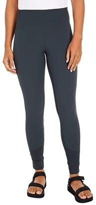 Mountain Hardwear Chockstone Rock Tights (Dark Storm) Women's Casual Pants