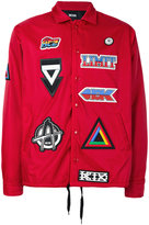 Kokon To Zai multi patched jacket - men - Nylon - XS