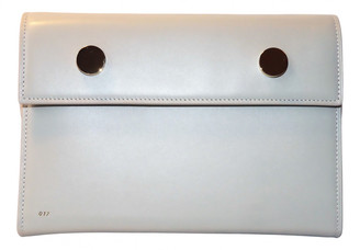 rsvp Grey Leather Clutch bags