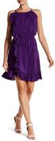 Amanda Uprichard Blossom Ruffle Silk Dress
