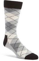 Happy Socks Men's Argyle Cotton Blend Socks