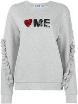 Sjyp Love Me sweatshirt - women - Cotton - S