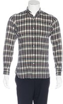 Ovadia & Sons Plaid Woven Shirt