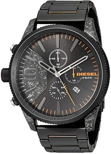 Diesel Men's Rasp Chrono 50 IP Watch DZ4469