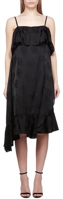 Kenzo Asymmetric Hem Dress