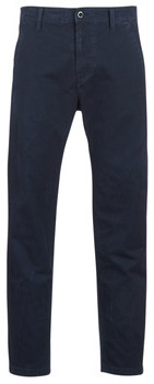 G Star Raw BRONSON STRAIGHT TAPERED CHINO men's Trousers in Blue