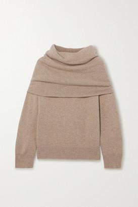 Frankie Shop Oversized Hooded Sweater - Sand