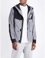 Billionaire Boys Club Reflective hooded shell jacket