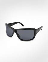 Swarovski Crystal Logo Plastic Sunglasses